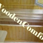 Деревянный ящик на лоджии