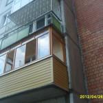 Отделка балкона в кирпичном доме