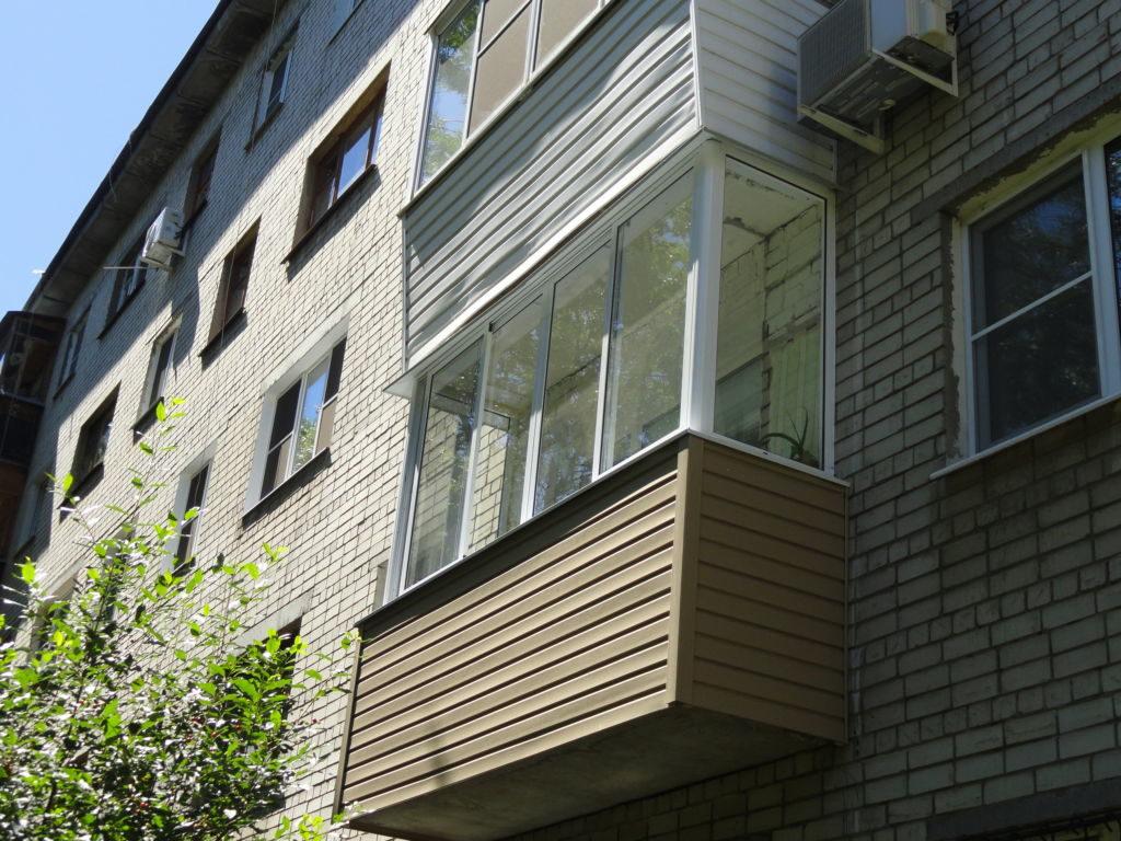 Комплексный ремонт балкона