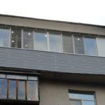Отделка двойного балкона под ключ