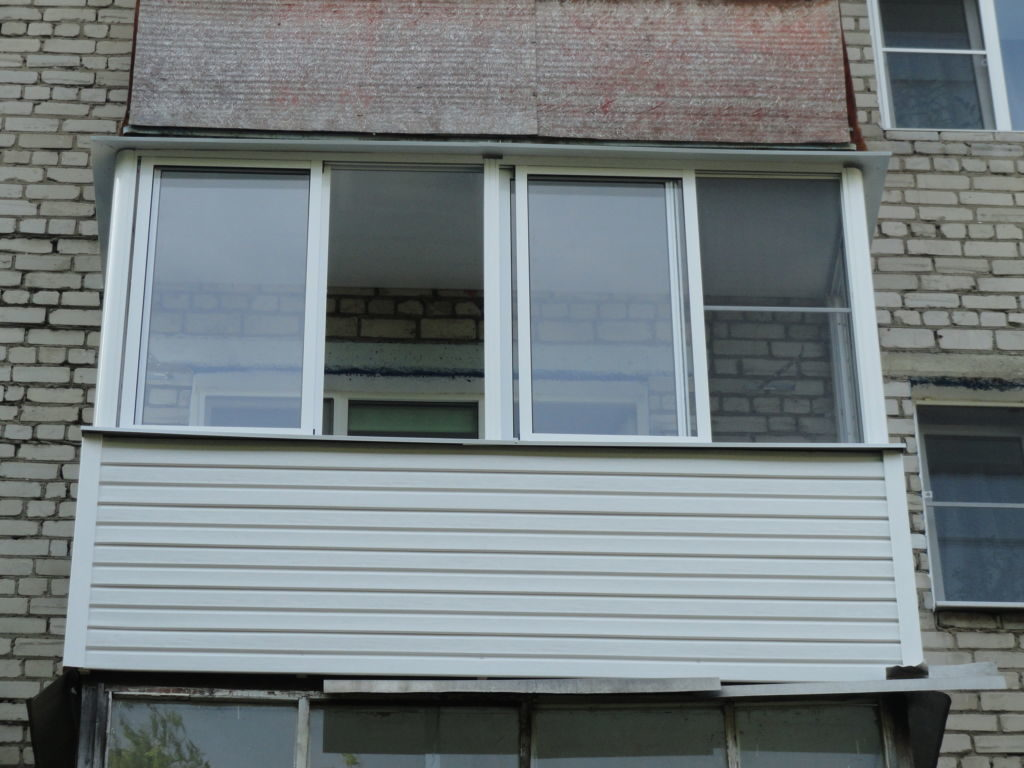Восстановление старого балкона