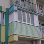 Остекление балкона в п. Новинки